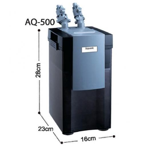 Внешний канистровый фильтр Aquanic AQ-500 (KW)