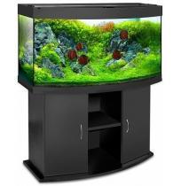 Панорамный аквариум с тумбой 190 литров