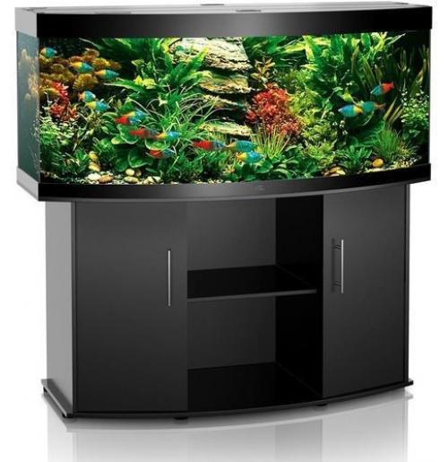 Панорамный аквариум с тумбой 220 литров