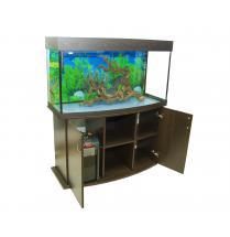 Панорамный аквариум 300 литров