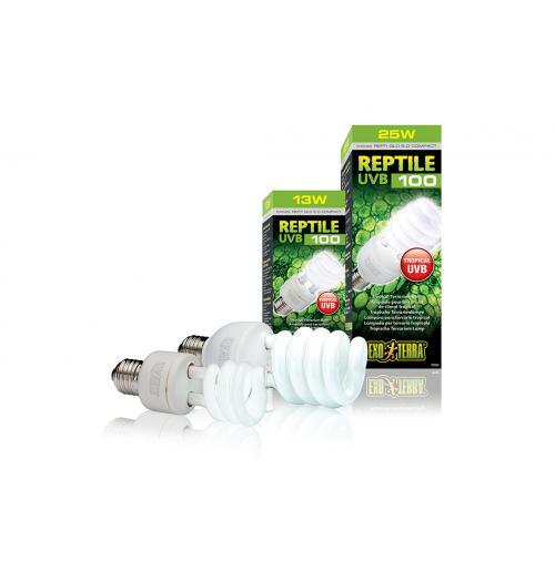 Лампа Exo-Terra Repti Glo Compact E27 5.0, 13 Вт.