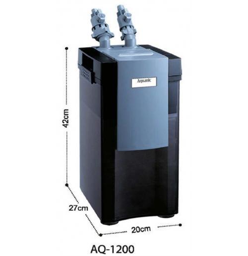 Внешний канистровый фильтр Aquanic AQ-1200 (KW)