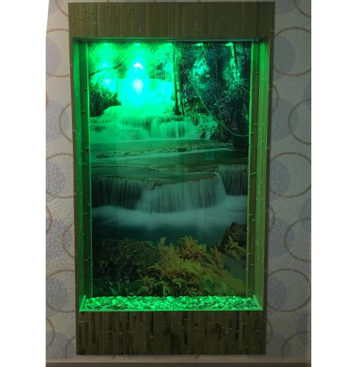 Водопад по стеклу Аквас